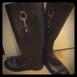 Black life stride boots